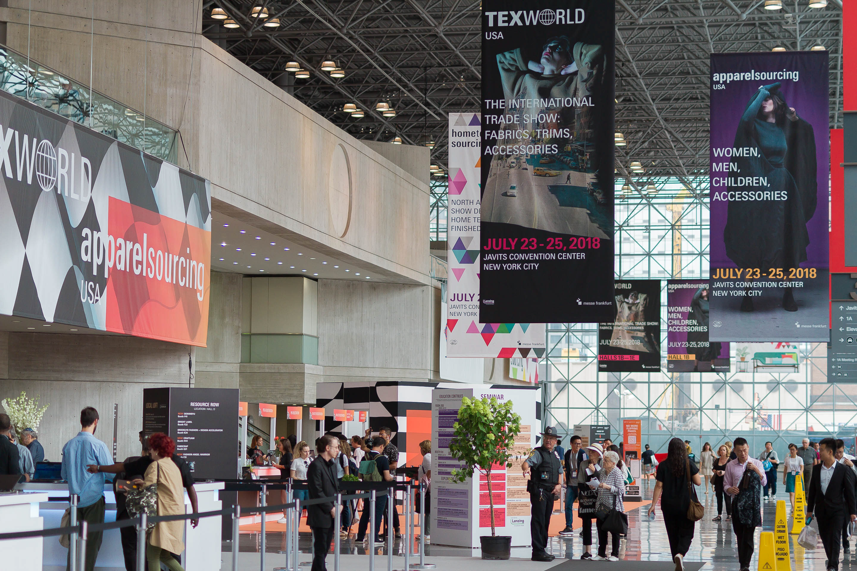What you can expect at Texworld USA